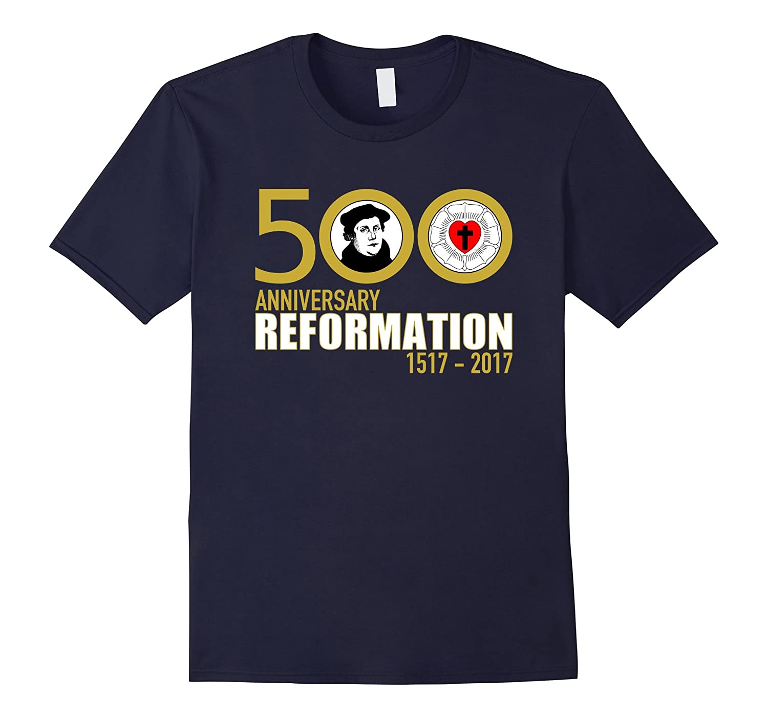 500 Anniversary Reformation & Martin Luther Shirt-FL