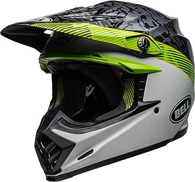 Bell Mx 2019 Moto 9 Mips Helm Für Erwachsene Chief Black White Green Größe Xs Auto