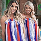Seamount Womens Stripe Print Camisole Sleeveless