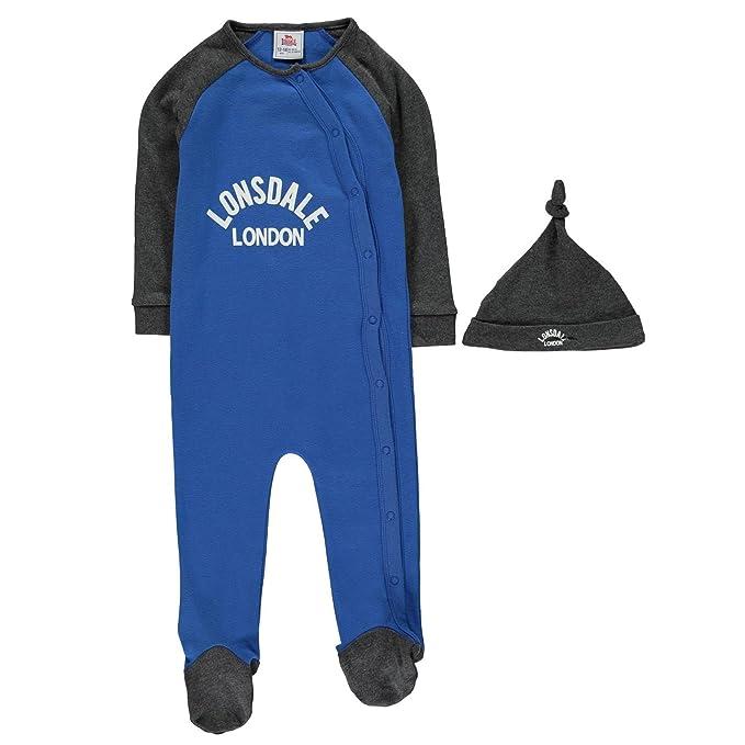 Lonsdale Bebé-Niños Pelele Pijama De Una Pieza: Amazon.es: Ropa y accesorios
