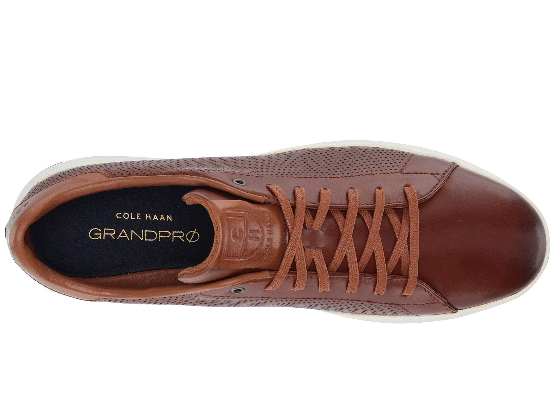 Cole Haan Mens Grandpro Tennis Sneaker 7 Woodbury Handstained Leather by Cole Haan (Image #9)