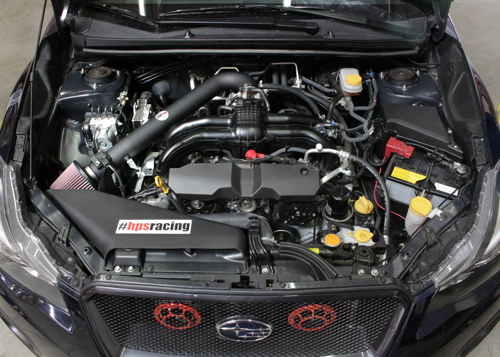 HPS 27-563WB Black Shortram Air Intake Kit with Heat Shield (Cool Short Ram SRI) by HPS (Image #1)