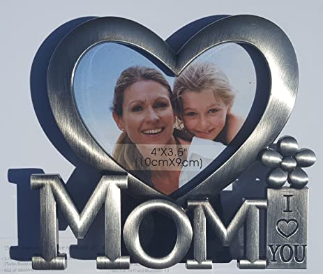 Amazoncom Mothers Day Photo Frame I Love You Mom Gifts For