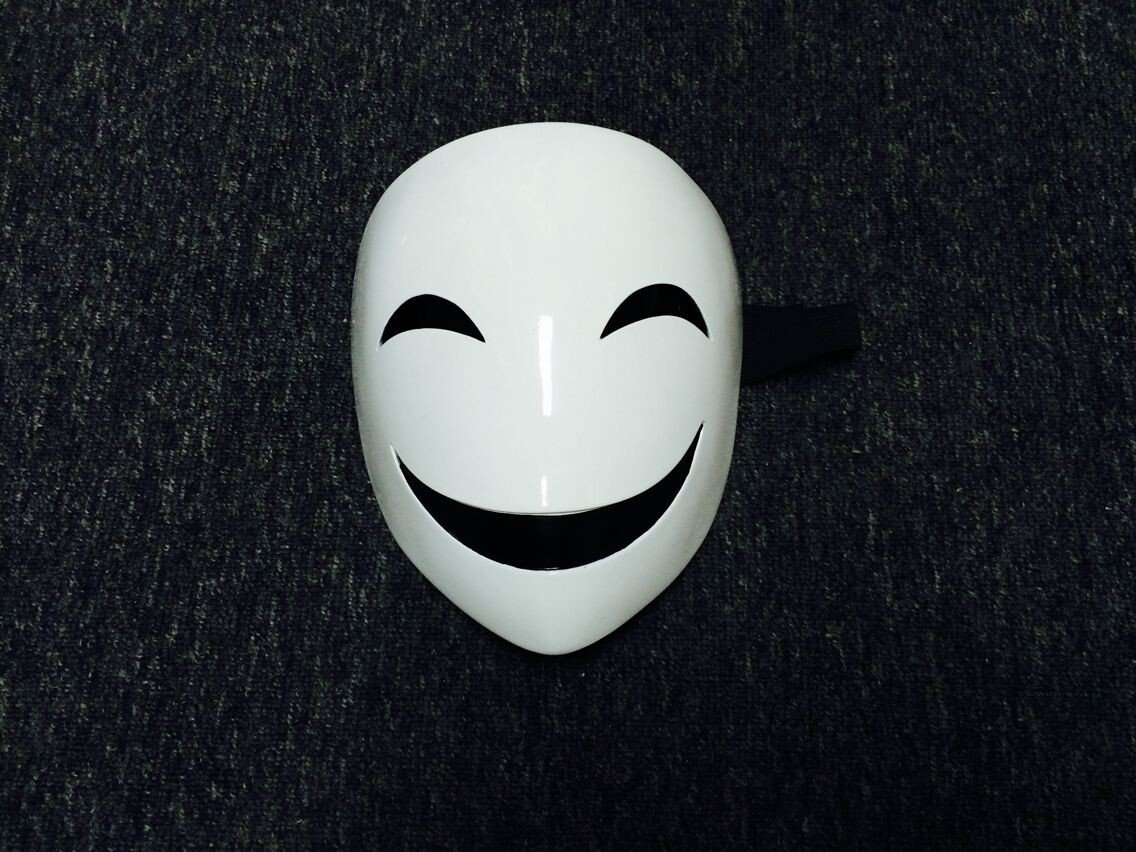 Amazon.com: Black Bullet kagetane hiruko Cosplay Prop Mask Costume-made: Home & Kitchen