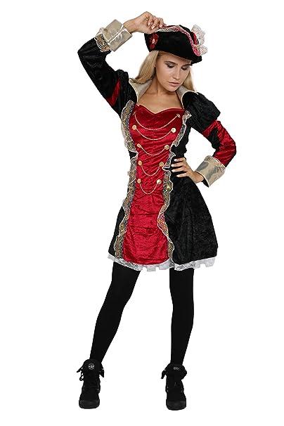 Amazon.com: Disfraz de pirata para mujer, para fiesta de ...