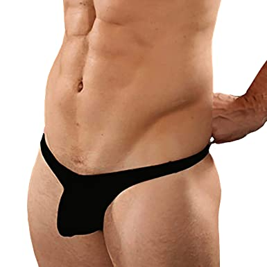 91e2726a7 Exotic Men s Acrylic and Spandex Sling Shot G-String Underwear (Black