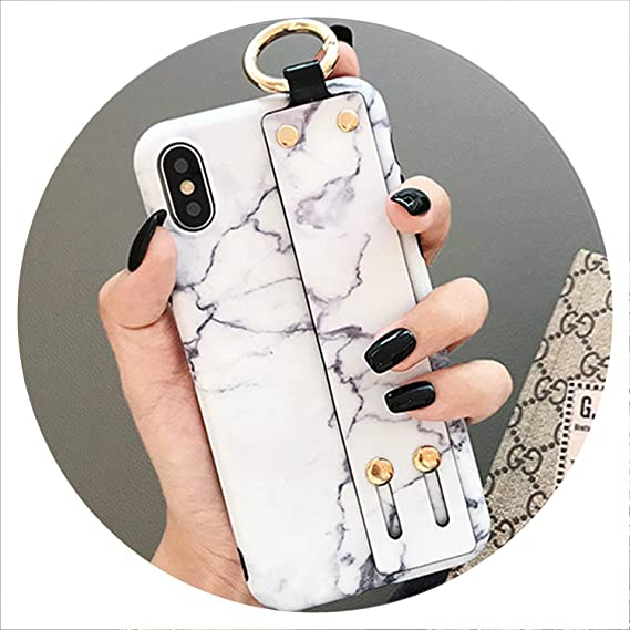 Amazon.com: Marble Case for iPhone Xs Max XR X 6 6S 7 8 Plus ...