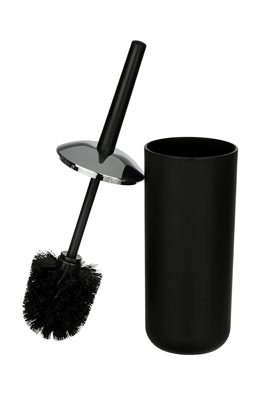 WC-B/ürstenhalter absolut bruchsicher WENKO WC-Garnitur Brasil 10 x 37 x 10 cm orange