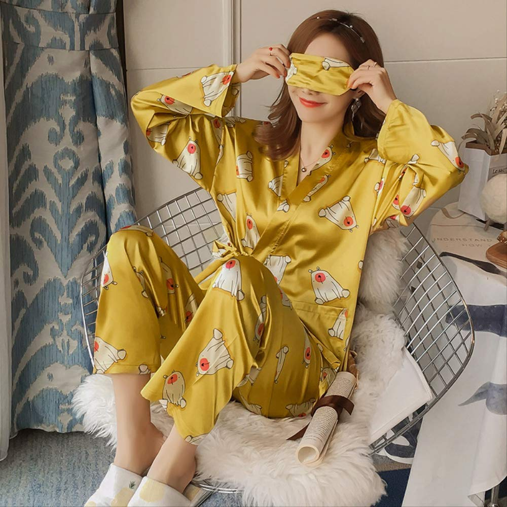 NSSYSKS Ropa Interior Pijamas Conjuntos con Pantalones ...