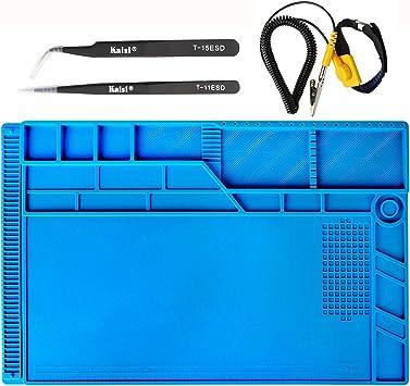 Kaisi S-130 Heat Insulation Silicone Soldering Mat Repair Work Resistant Main...