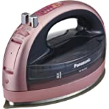 パナソニック コードレススチームWヘッドアイロン   ピンク NI-WL603-P
