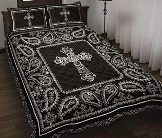 Amazon Com Ideas Gifts For Thanks Giving Christmas Quilt Cross Pattern Quilt All Season Quilt Cotton Quilt King Queen Twin Throw Size Best Gifts For Mom Dad On Thanksgiving Christmas