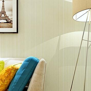 Hanmero Modern Fernseher Hintergrund Vliestapete Streifen 0,53*10m 6 Farben  Für Wohnzimmer (