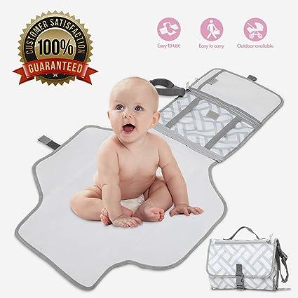 Cambiador Portátil de Pañales para Bebé LOORI, Portátil Cambiador, Bebé portátil Cambio, Bebé