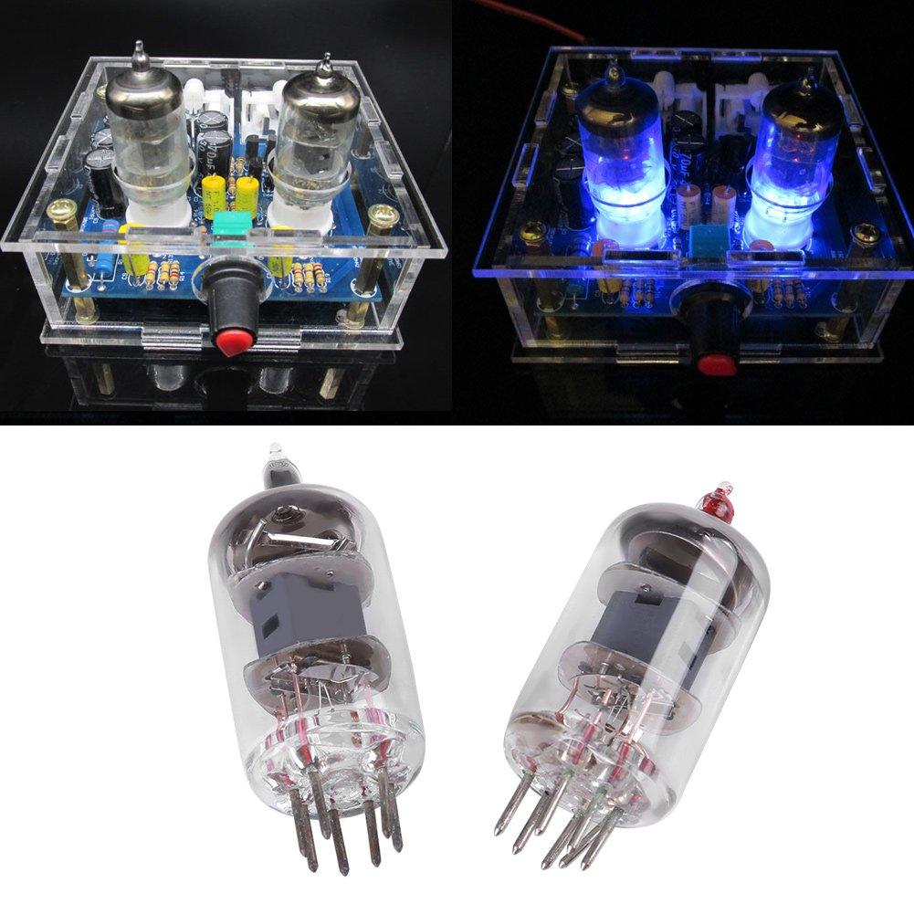 V/álvula de tubo de vac/ío 6J1 Amplificador-Placa frontal Amplificador de auriculares Piezas Music Fidelity Kit