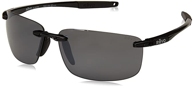 6f08f4a74e Revo Unisex RE 4059 Descend N Rectangular Polarized UV Protection Sunglasses