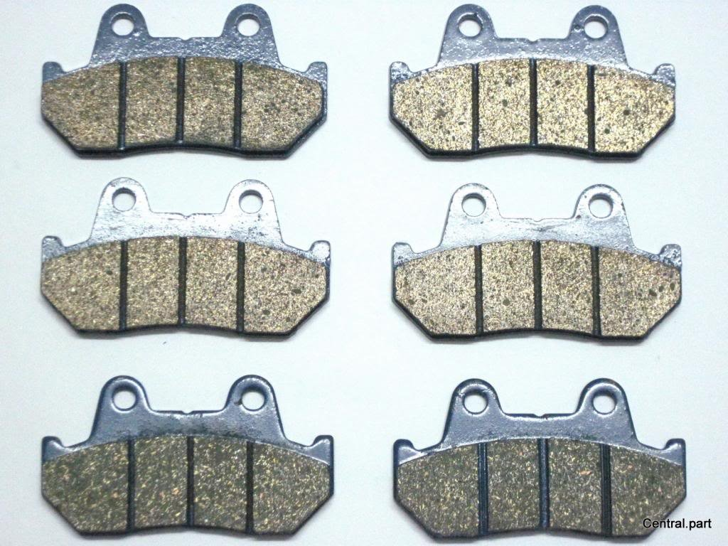 Amazon.com: Master Chen Front Rear Brake Pads Brakes for Honda CB 1100F GL Goldwing 1200 FA069FR MC0076-PAD: Automotive