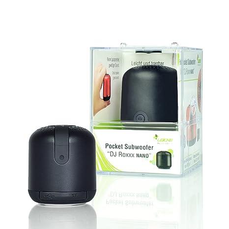 Sharon Mini Altavoz Bluetooth DJ Roxxx Nano Reproductor de MP3 Inalámbrico Portátil Llamadas de Altavoz Lector