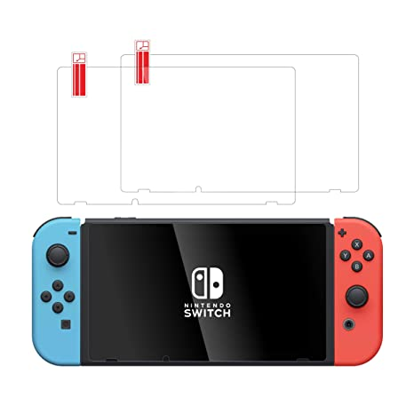 TalkWorks Tempered Glass for Nintendo Switch Screen Protector