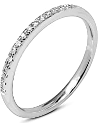 round natural diamond wedding band 10k gold for women - Gold Wedding Rings For Women
