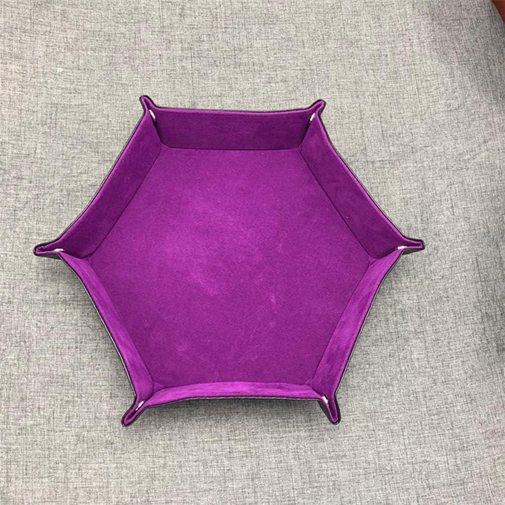 color morado TOPBATHY Bandeja de piel sint/ética plegable con bandeja de almacenamiento plegable para escritorio