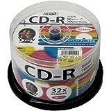 HI-DISC 音楽用CD-R HDCR80GMP50 (32倍速/50枚)