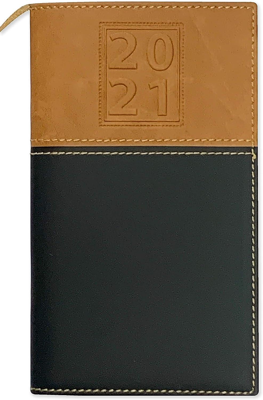 BookFactory 2021 Weekly Pocket Calendar ///2021 Calendar ///2021 Weekly Calendar//Weekly Planner Organizer CAL-2021-POCKET Calendar with Notepad Organizer