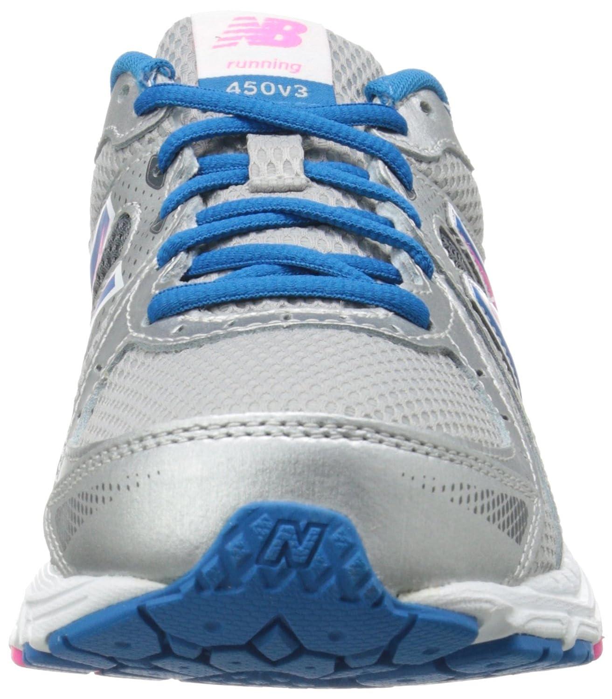 ac577588c45 Dámská běžecká obuv Dámská New Balance W450V3 Stříbrná Stříbrná  běžecká  modrá 4ac0f1c