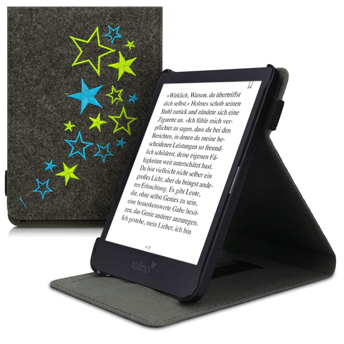 kwmobile Funda para e-Reader Tolino Shine 3: Amazon.es: Electrónica
