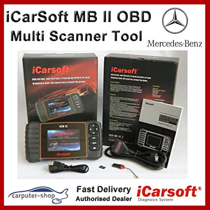 iCarsoft MB II diagnosetester