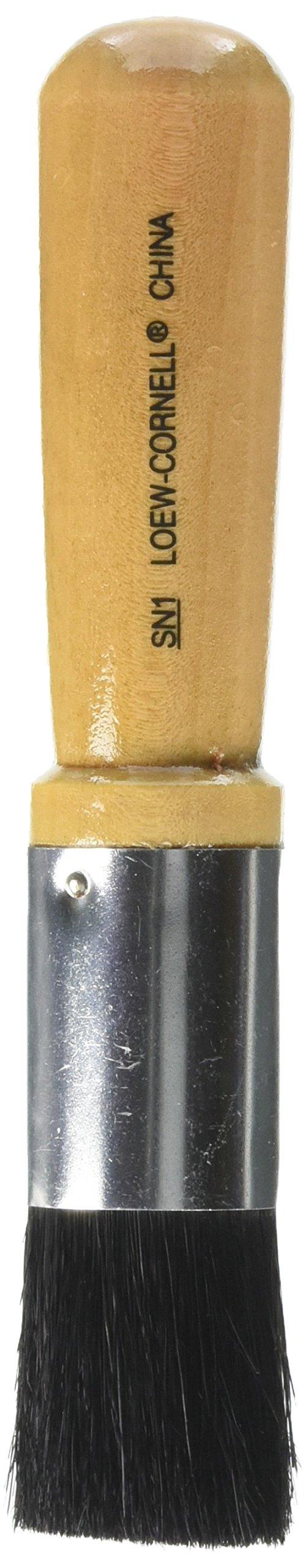 Loew-Cornell Bristle Stencil Brush-1'' by Loew-Cornell