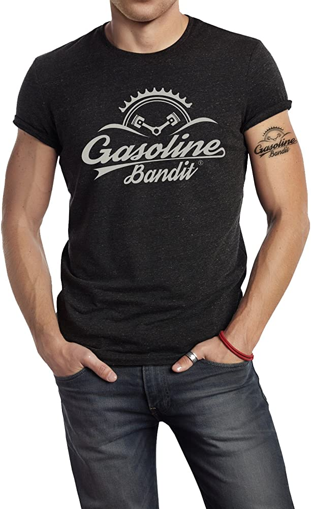 Manga Corta para Hombre GASOLINE BANDIT/® Camiseta