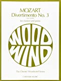 Divertimento No 3 from K.439B: For Clarinet and Piano
