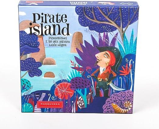 MARBUSHKA - Juego De Mesa Pirate Island: Amazon.es: Juguetes y juegos