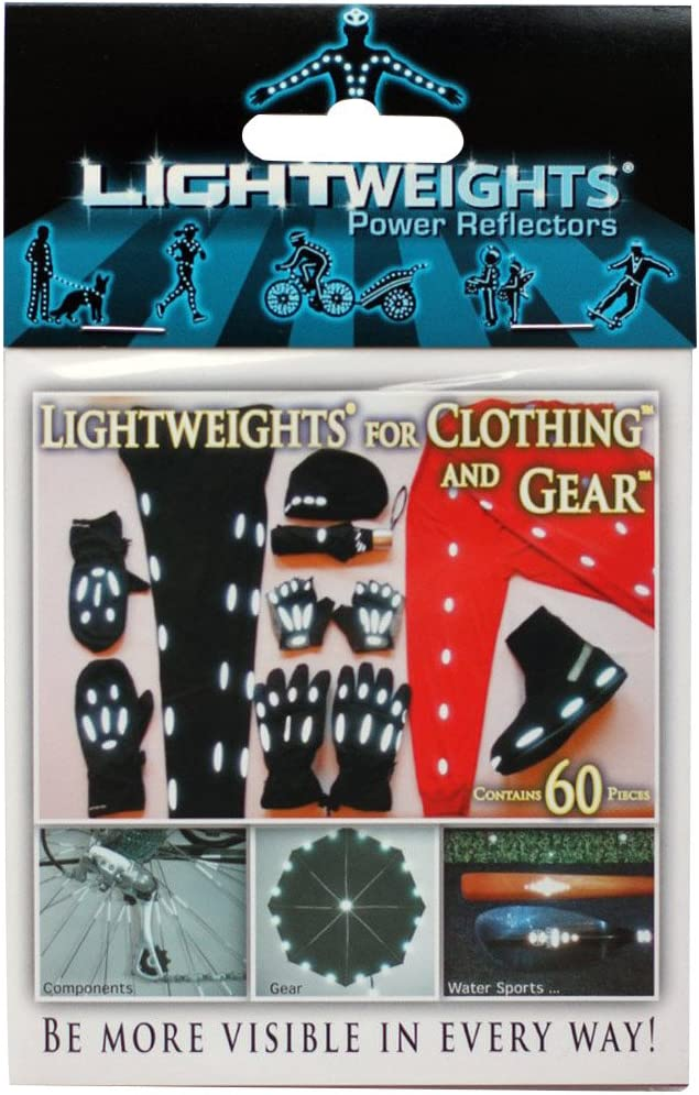 Lightweights for Clothing Gear SilverFlex SuperBright Reflective 60