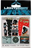 Lightweights Power Reflectors for Clothing 60-Piece