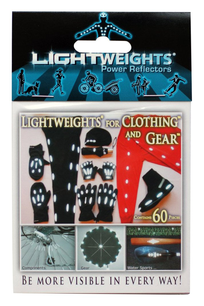 Lightweights for Clothing & Gear SilverFlex SuperBright Reflective 60