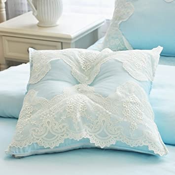 Amazon Abreeze Girls Bedroom Throw Pillows Decorative Bed Inspiration Decorative Bed Pillows Blue