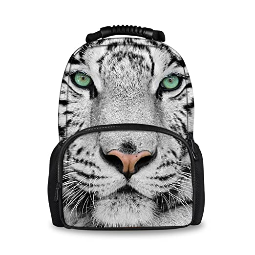 7486e1a30949 Coloranimal Stylish 3D Zoo Animals Pattern Backpacks for Children School  Book Bags