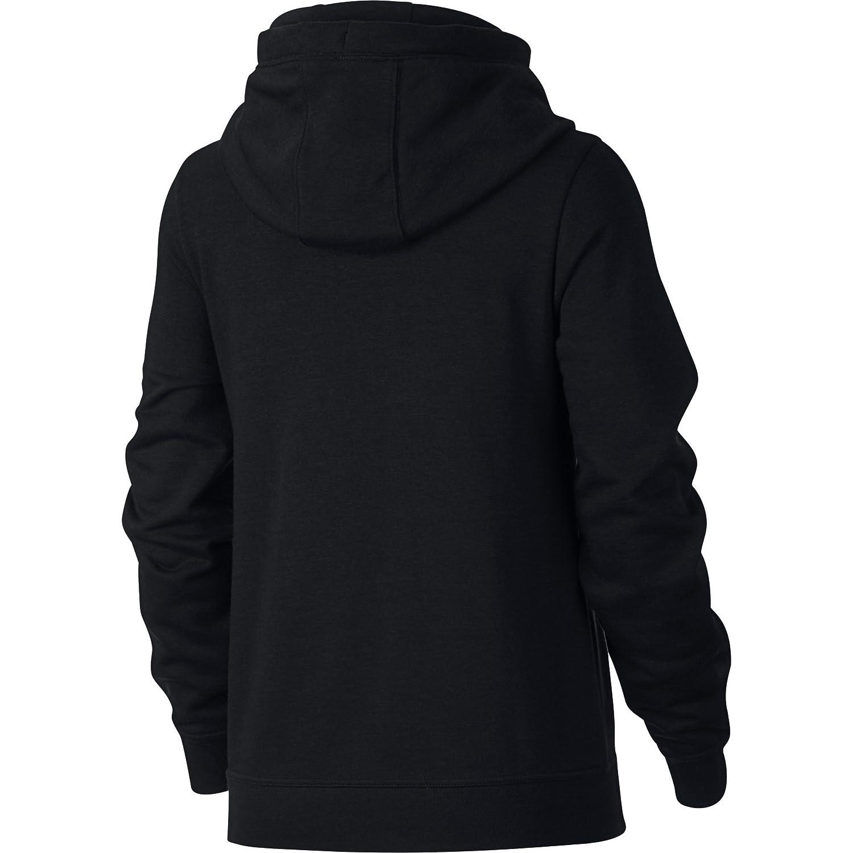 e407acfb50 Amazon.com  NIKE Sportswear Women s Funnel-Neck Hoodie  Sports   Outdoors