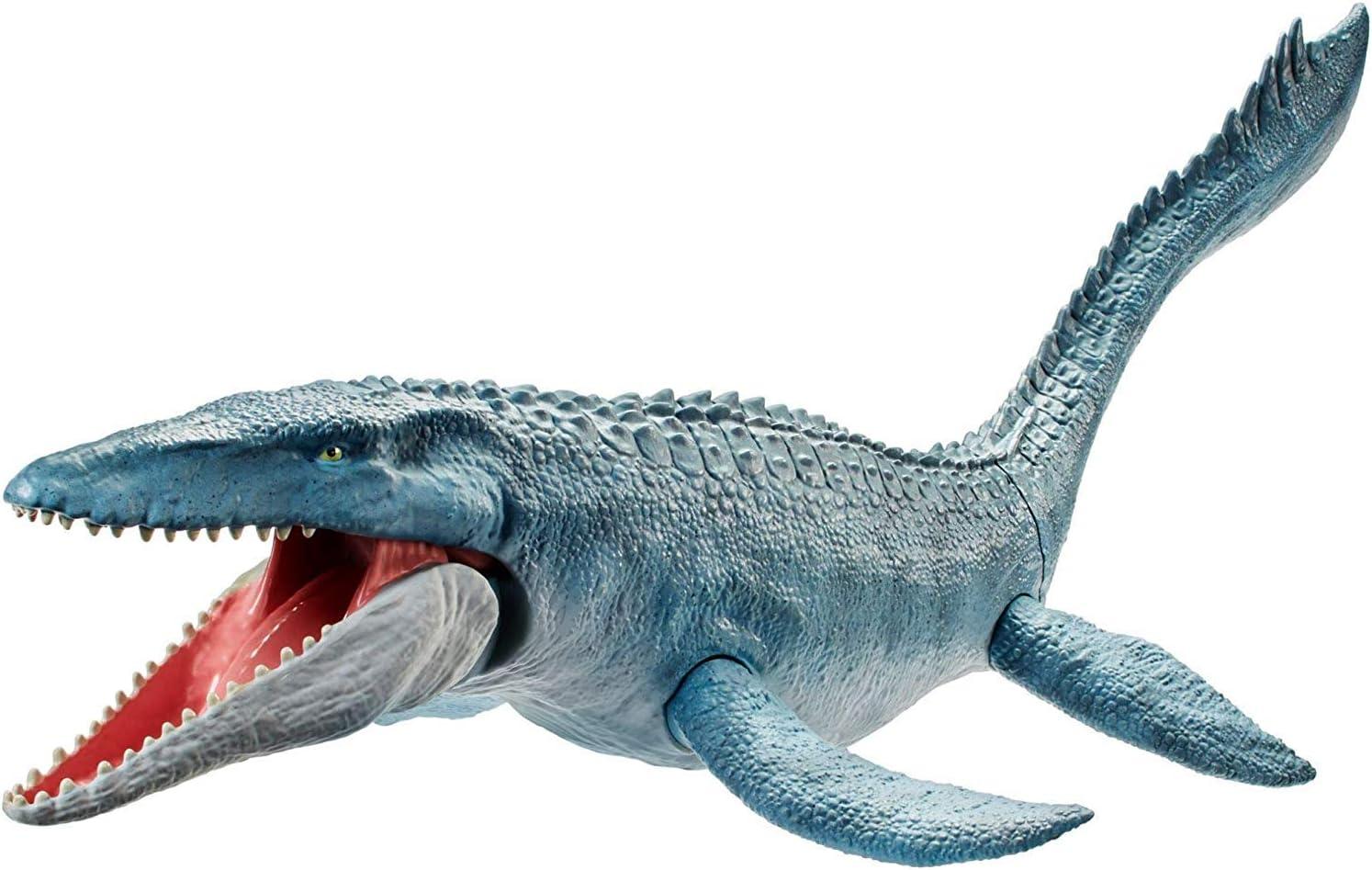 Mattel-FNG24 Jurassic World Creatura Acquatica Colossale con Multicolore