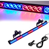 Led Warning Lights 31 Inch Police Emergency Strobe Light Bar 13 Flash Patterns 28 Led Traffic Advisor Vehicle Truck Cop…