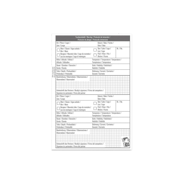 iQ Company Logbuch Einlagen L 1 TG Logbucheinlagen Logbook Refill Lochung 3 NEU