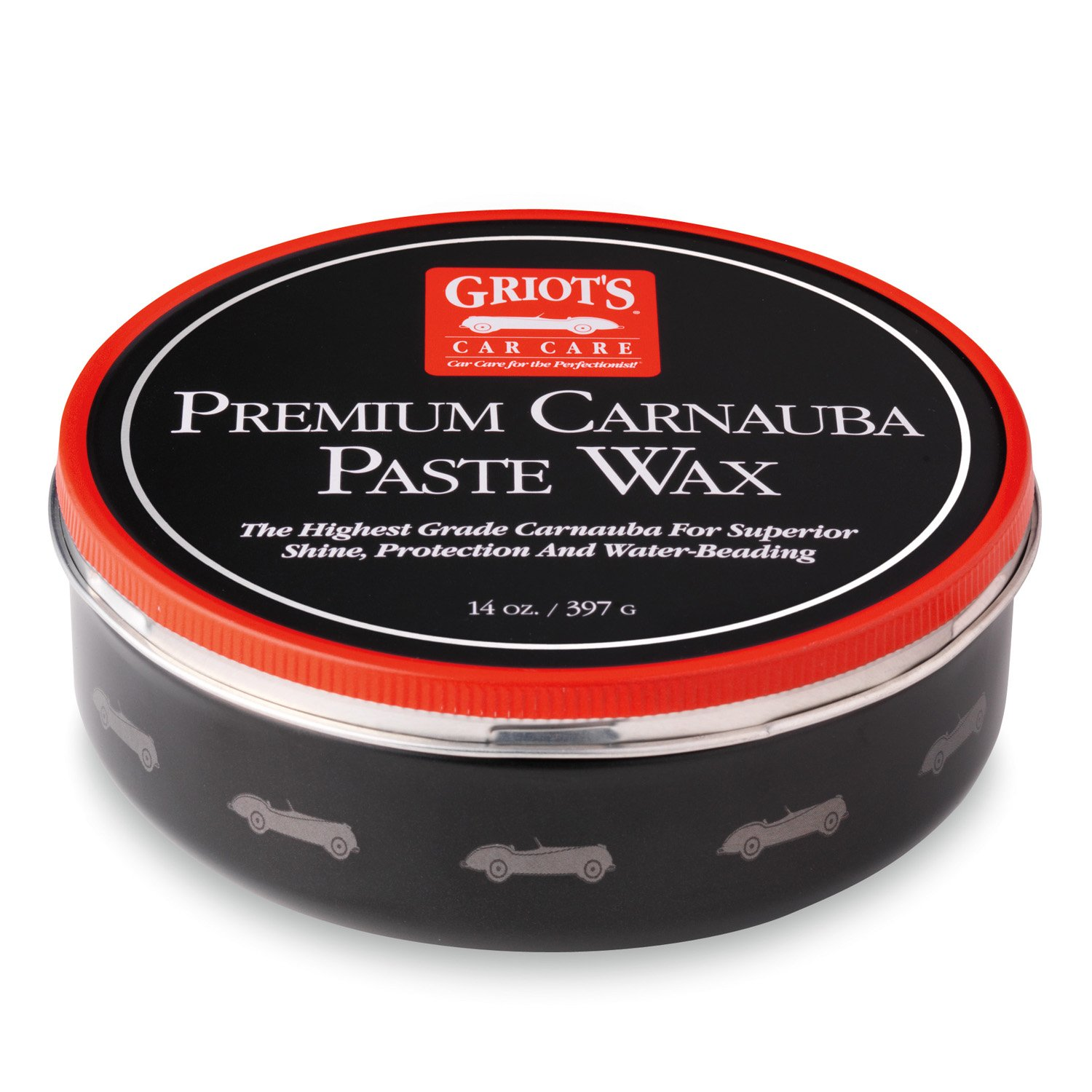 Griot's Garage 11029 Premium Carnauba Paste Wax 14oz Griot' s Garage