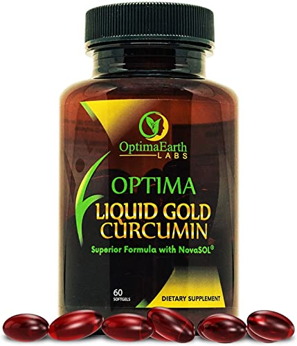 OptimaEarth Liquid Gold Curcumin w NovaSOL