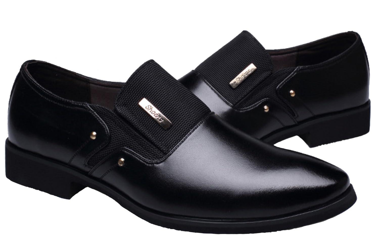 Lilicat Mens Business Dress Shoes Mens Leather Wedding Shoes Formal