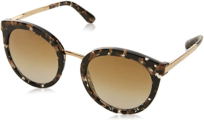 b8a9bb1f21 Amazon.com  Dolce   Gabbana Women DG4268 52 Multicolor Gold ...