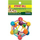 Ware Atomic Ball Wood Chew Toy for Small Animals - Large