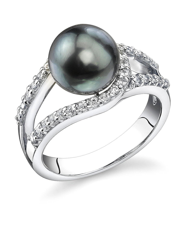 Tahitian Cultured Pearl Tessa Ring