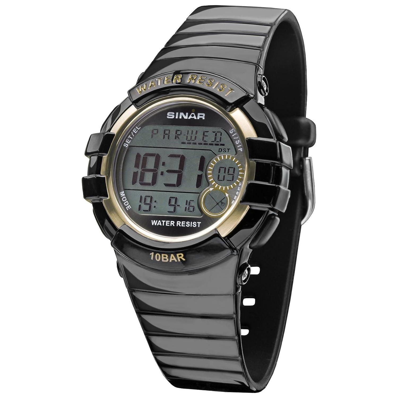 SINAR XA-20-15 - Reloj Unisex, Correa de Resina Color Negro